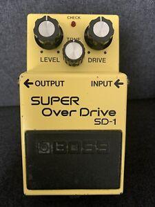 Boss Super Overdrive SD1 1981