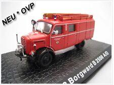 "Borgward B 2500 autobomba 8 ""bomberos Ismaning"" * DeAgostini Ixo * 1:72"