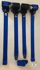 Juego de 5 cinturones de seguridad Azules (Williams Style) Renault clio 1 3P 16V
