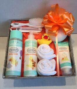 Baby Gift Hamper Basket Maternity Shower Gift Childs Farm Unisex New Baby Gift