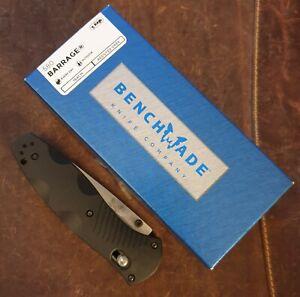 BENCHMADE 580 BARRAGE Einhandm. 9,1cm 154CM Klinge FRN, Valox OVP neu unbenutzt!