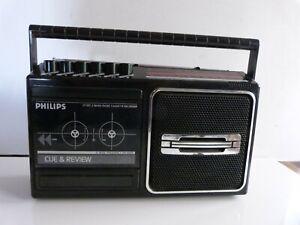 Philips D7160 Radio AM/FM  Cassette Tape Recorder/Player