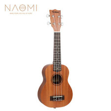 NAOMI 21 Inch Soprano Ukulele 4 Strings Instrument Mini Acoustic Guitar NEW