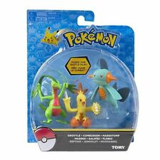 TOMY Pokemon Action Figure 3-PacK Grovyle, Combusken, and Marshtomp