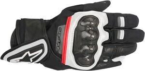 Alpinestars Mens Rage Drystar Gloves Black/White/Red Size 2X
