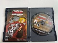 Fullmetal Alchemist and the Broken Angel (Sony PlayStation 2) Disc & manual only
