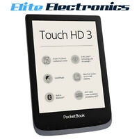 "PocketBook Touch HD 3 eBook Reader 16GB 6"" E Ink Carta HD Metalic Grey"