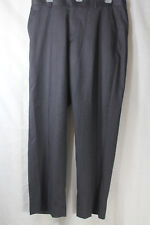 NEW Mens Banana Republic Tailored Fit Flat Front Dress Wool Pants Sz 34 x 30