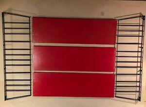 Vintage 1960's A. Dekker Wall Cabinet original Tomado Holland