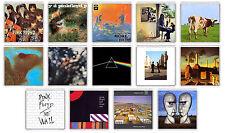 PINK FLOYD SET OF 14 FRIDGE MAGNET LP COVERS IMANES NEVERA