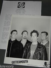 GUTTERMOUTH 'COVERED WITH ANTS' 2001 PRESS KIT—PHOTO