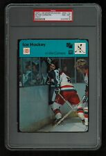 PSA 8 IN THE CORNERS Sportscaster Hockey Card #46-14