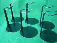 Doll Stands  6 Black Metal stands 6 to 11 inch Dolls and teddy bears