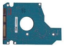Controladora PCB toshiba mk1252gsx g002641a unidades de disco duro electrónica