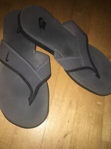 Nike Men's Flip Flop Gray Sandals for sale | eBay