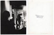 PHOTO ANCIENNE Martha Rocher Homme à la cigarette Portrait de nuit Jeu Lumière
