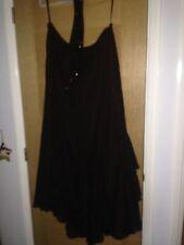 Chiffon Patternless Casual Asymmetrical Skirts for Women