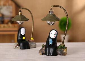 LED Lamp No Face Man Night Light Miyazaki Hayao Spirited Away Xmas Toys Gift