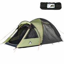 Glenhill Beechnut 3 Mann Zelt Kuppelzelt 5000 mm Campingzelt + XXL Schlafkabine