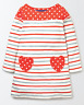 Mini Boden hotchpotch heart pocket tunic dress  3 colours all ages jersey girls