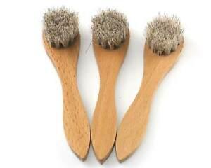 New: Cathcart Elliot 3x Dauber, Polish Applicator Brush with Dense Horse Hair