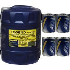 20 L MANNOL d'huile SAE 0w-40 Legend + Ester moteur lavage moteur Flush
