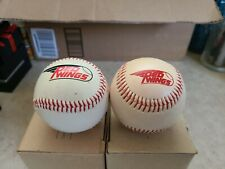 Vintage Rochester Red Wings Logo Balls 1980's New York Baltimore Orioles