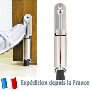 9 X Cale-Porte en Acier Inoxydable Poignée massivement Door Stopper chambre Cale-porte sol butées