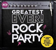 Greatest Ever Rock Party 3-CD NEW SEALED Rush/UFO/Samson/Kiss/Dokken/Magnum/Hole