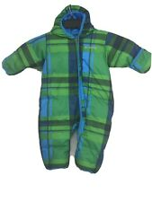 Excellent COLUMBIA Infant Snuggly Bunting Hooded Down Suit Puffer Size: 12 Month