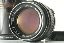 Rare! [N MINT] Olympus M-SYSTEM E.ZUIKO AUTO-T 100mm f/2.8 Lens from JAPAN #5657