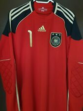 Goalkeeper Shirt Manuel Neuer Germany World Cup 2010 Excellent Conditions