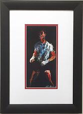 "LeRoy Neiman ""Sugar Ray Robinson"" Newly CUSTOM FRAMED Art Print - Boxing Sports"