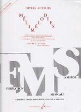Méthodes et pédagogie Texte à chanter  - MELIMELODIES VOL.6 Cycle 3