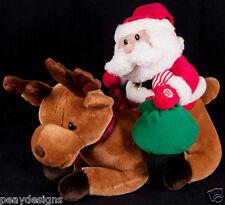 Avon True Meaning of Christmas Santa Reindeer Animated Talking SEE VIDEO