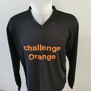 maillot de football challenge orange UHLSPORT taille xl