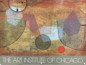 Paul Klee - The Art of Institute of Chicago (Sunset) - 1980s - Offset Poster
