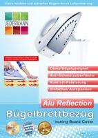Bügelbrettbezug Bügelbrett-Bezug Alu Reflection 127x45 cm silber Komfort Polster