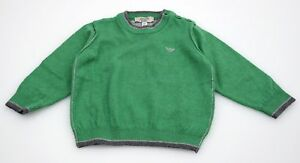 ARMANI BABY BOY PULLOVER JUMPER SWEATER WINTER CASUAL FREE TIME CODE BDM04