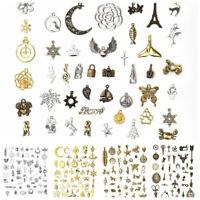 50g/pack Vintage Jewelry Making Charms Pendants Random Shape DIY Crafts Jewelry