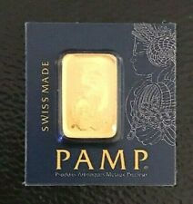 More details for swiss pamp gold bar 1g mint proof sealed assay aut certification investment