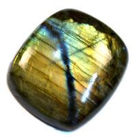 Cts. 73.80 Natural Multi Fire Labradorite Spectrolite Oval Cab Loose Gemstone
