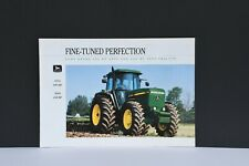 John Deere 4755 & 4955 side stack late models tractor brochure 1992