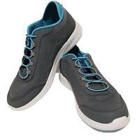 Tony Little Cheeks Trainers Fit Body Shape Knit Slip On Trainer Sneakers Sz 10W