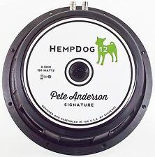 Eminence HempDog 12″ Guitar Speaker 8 Ohm 150 W Hemp cone - Pete Anderson design