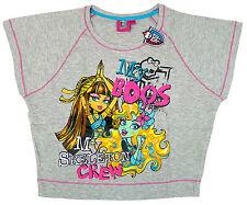 Girls T-Shirt Tops Official Monster High 7-14 Years 87688