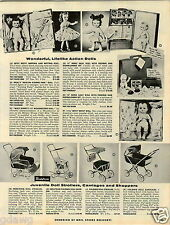 "1957 PAPER AD Besty Wetsy Weeping 15"" Heinz Baby Doll Walt Disney Mousketeer"