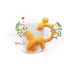 New Starbucks 2018 China Playground Yellow Giraffe 12oz Mug