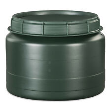 25 Liter grün Drehdeckelfass Vorratstonne Kunststofffass Plastefass Behälter NEU