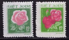 VIETNAM 1980 Sc#1084-1085  MNH NG VF Flowers
